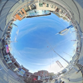 . @wave105 at gunquay wharf  #theta360 #theta360uk