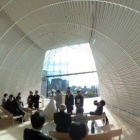 PALACE HOTEL TOKYO💒 WEDDING 360°写真です。 #theta360