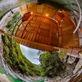徳島、ホテル祖谷温泉、男湯、最高のロケーション