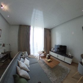 Noble BE19 Sukhumvit 1 Bedroom 50.21 sq.m (Living Room 360° View)