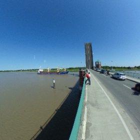 Leer Janberghausbrücke wieder auf #theta360 #theta360de