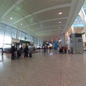 トロント・ピアソン空港ターミナル1 ゲートC,D付近(日本からの直行便など)