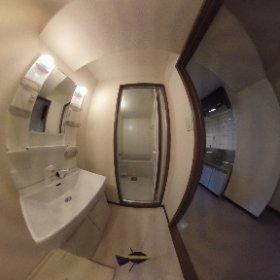 COZYオオタ305 洗面室 #theta360