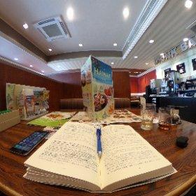 ギーターの勉強中、と昼食。