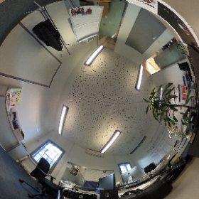 #dezemberdesk #careerloft #blicksta Ein Büro voller VR SchnickSchnack und natürlich ein 360° Foto. #theta360