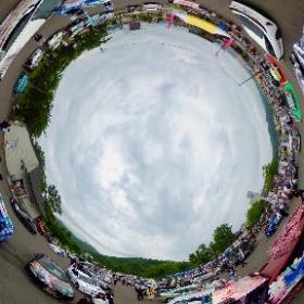 """洞爺湖で行われた""""TOYAKOマンガ・アニメフェスタでの 痛車展示の様子です。 6月の24と25日に開かれました。"""