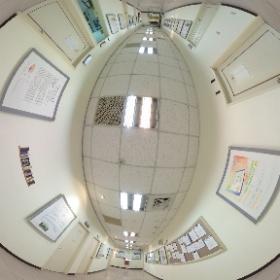 中華科技大學企業管理系 10樓走廊 #theta360