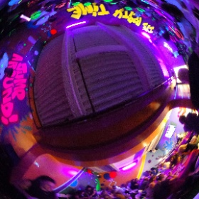 360 Party Room at Max Adventures. #kidsbirthdayparty #partyplace #partyspace #Brooklyn #NYC
