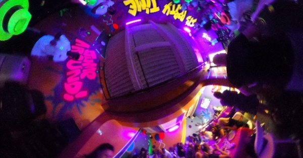 360 Party Room at Max Adventures. #kidsbirthdayparty #partyplace  #partyspace #Brooklyn #NYC - Spherical Image - RICOH THETA