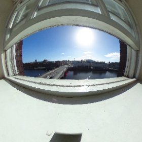 A lovely sunny view from our Accommodation Department! #Sun #Cork #theta360
