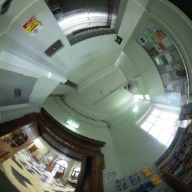 York Explore Lift lobby ground floor  #theta360