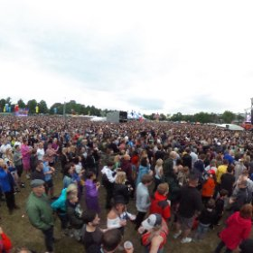 Dekota rockers Stereophonics make history as they headline the opening night at the new home of Sheffield's Tramlines music festival in 40,000 capacity Hillsborough Park  on Friday, July 20, 2018. #theta360