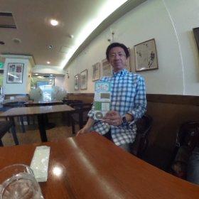 ルイとレイのカフェレストラン でシータ。 札幌 ショップカード グラフィックス 協力店です。美味しくいただきました。 ありがとうございます。