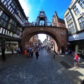 That famous clock thing at Chester