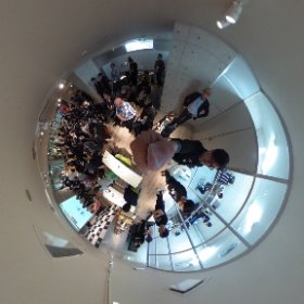 "the cross point of open-innovation, co-creation and fabrication is "" THE DECK"" in Osaka,japan! #the_deck #theta360"