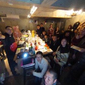 科学実験酒場新年会(2017/1/8)