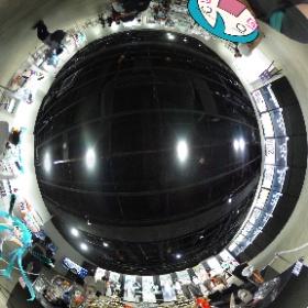 初音ミク GTプロジェクト 10周年展示会にお邪魔してきました! #miku360 #theta360