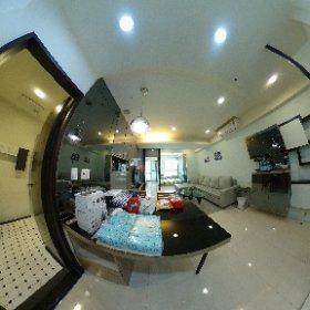 巨蛋捷運兩房外商出租(全備品範例) 權威物業外商租賃 Light Service Apartment in Kaohsiung  arei.tw sample 1 #theta360