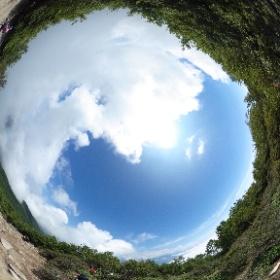 黒檜山行ってきたー! 雲海雲海 #theta360