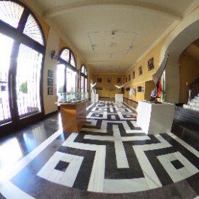 Atrio del Ayuntamiento de Chiclana, Salón de Ilustres Chiclaneros http://www.dechiclana.com/item/ayuntamiento/ #chiclana #chiclanadelafrontera #theta360