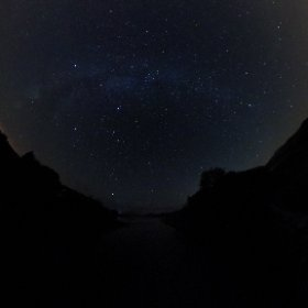 The Milky Way on The Quiet Man Bridge in Connemara #firefly3d #Galway2020  #theta360 #theta360uk