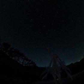 雪ミクさんったら、星まで降らせちゃった…! #miku360 #theta360