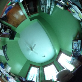 Testing out the Theta S camera in my messy office #theta360