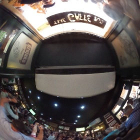 Watching the British Lions beat New Zealand #theta360uk