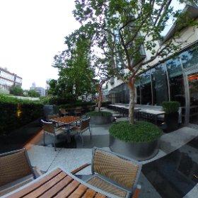 フレンチキッチン「ガーデンビストロノミー」(グランドハイアット 東京) #theta360