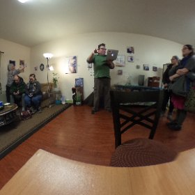 First Friday at the Hub. @fbxhub @arctickle @jillazanne #theta360