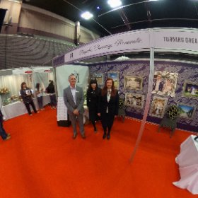 The stunning Vaulty Manor at the heart wedding fair. #theta360 #theta360uk