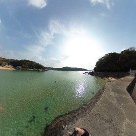 塩樽海水浴場,壱岐島 #theta360