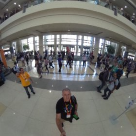 Time for #MSIgnite to start #theta360uk