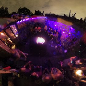 Tootstock party - open air space, acoustically shielded #theta360 #theta360uk