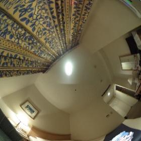 北海道、オーセントホテル小樽にて雪ミクさんと♪ #miku360 #theta360