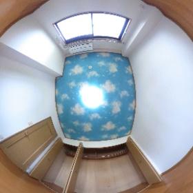 山田町ビューティフルライフ201洋室 #theta360