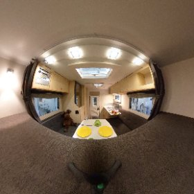 Wohnkabine Nordstar Eco 200 B - 2018.  Diese familientaugliche findet Ihr auf www.nordstar.de.  #nordstar #wohnkabine #wohnkabinencenter # Wohnkabine für x-Klasse #theta360 #theta360de
