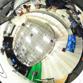 A shot from our TV studio at Volda University College, where the next generation TV journalists are trained. #hivolda #VUC #HVO  #theta360