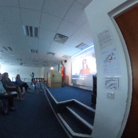 Audrey kicks off the 2nd annual @wcs_wits conference @westcollscot #redefinelearn #MIEExpert #theta360uk