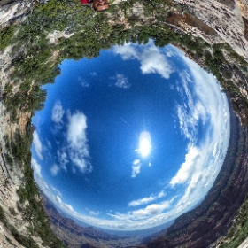 Grand Canyon North Rim  #theta360