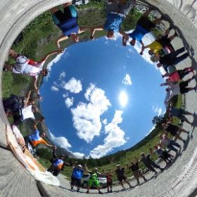 Ride&Click...escursione fotografica in MTB e e-MTB tra le suggestioni dei Borghi della #ValleDiSusa, #Alpeggi, #Cascate, Antiche strade ferrate e #Rifugi Montani...grazie a Tutti i Meravigliosi Partecipanti!!!   #theta360 #theta360it