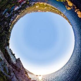 Гурзуф, рассвет над бухтой Чехова. Крым #Крым #Ялта #Гурзуф * #Crimea #Yalta #Gurzuf
