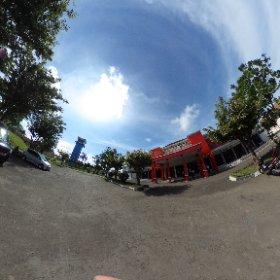 Bagian depan Bandara Tunggul Wulung di Cilacap - Jawa Tengah #theta360