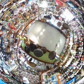 Delicatessewinkel - Corte - Corsica #theta360