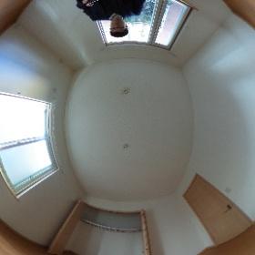 世田谷区等々力の「等々力ハウス」3LDKテラスハウスの1階北側洋室パノラマ写真です。物件詳細はこちらhttp://www.futabafudousan.com/bukken/g/syousai/746dat.html #theta360