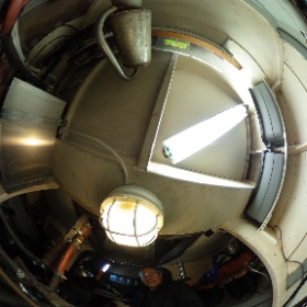 Never took a picture in Never Neverlands engine room. #theta360