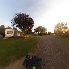 Kamperen op de Cox. Camping de Vergarde #theta360