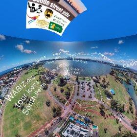Coode St Jetty in South Perth, cafe, boat fun hire, bbq picnic, riverside walk trails Swan river to Perth city, SM hub https://goo.gl/LQ9Rtz BEST HASHTAGS  #CoodeStJettySP  #SouthPerth   #VisitPerthWA   #WaTourism #butterfly3d #theta360