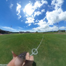 well come to churchill park! #theta360