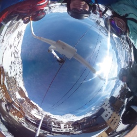 Val Thorens 2017 up to Folie Douce #theta360